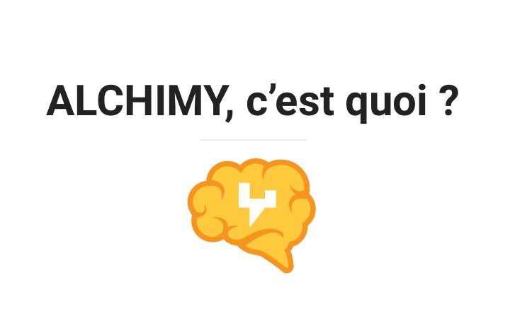 La nouvelle transmutation d'info par Alchimy.info !