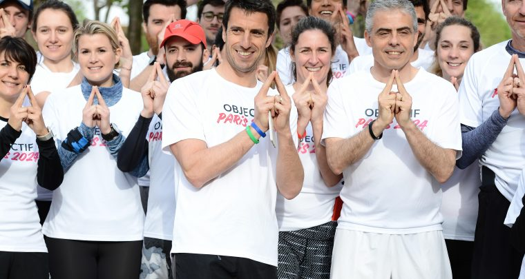 Tony Estanguet, Denis Brogniart et Malia Metella: Tous ambassadeurs pour #ObjectifParis2024!